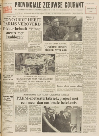 Provinciale Zeeuwse Courant 1969-05-30