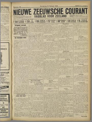 Nieuwe Zeeuwsche Courant 1922-02-16