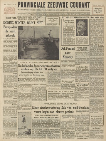 Provinciale Zeeuwse Courant 1963-01-11