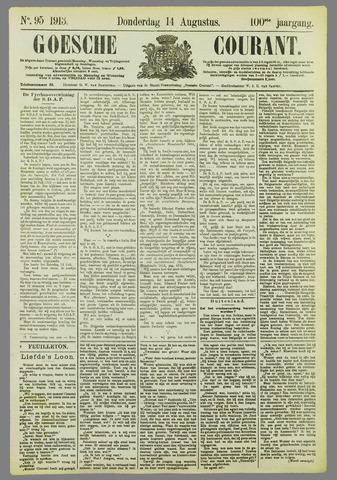 Goessche Courant 1913-08-14