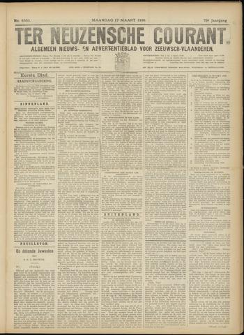 Ter Neuzensche Courant. Algemeen Nieuws- en Advertentieblad voor Zeeuwsch-Vlaanderen / Neuzensche Courant ... (idem) / (Algemeen) nieuws en advertentieblad voor Zeeuwsch-Vlaanderen 1930-03-17