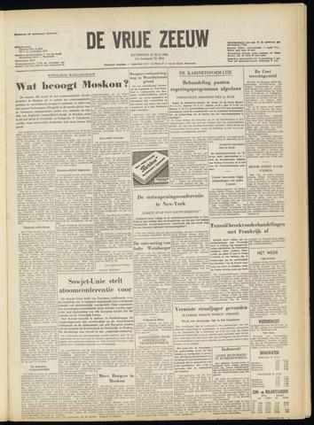 de Vrije Zeeuw 1956-07-14