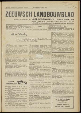 Zeeuwsch landbouwblad ... ZLM land- en tuinbouwblad 1952-05-24