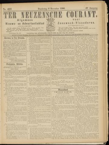 Ter Neuzensche Courant. Algemeen Nieuws- en Advertentieblad voor Zeeuwsch-Vlaanderen / Neuzensche Courant ... (idem) / (Algemeen) nieuws en advertentieblad voor Zeeuwsch-Vlaanderen 1906-12-06