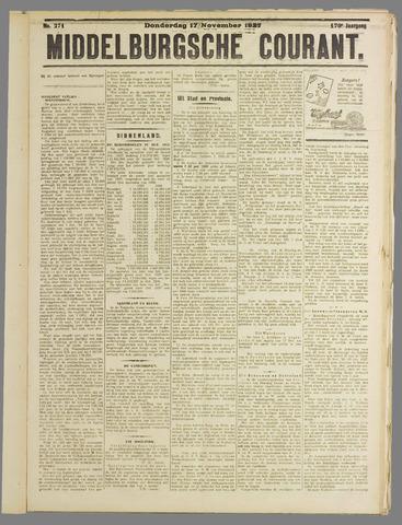 Middelburgsche Courant 1927-11-17