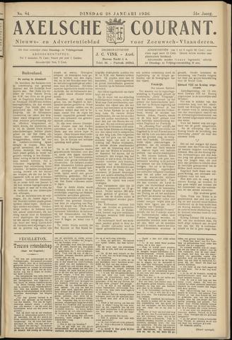 Axelsche Courant 1936-01-28