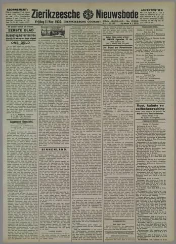Zierikzeesche Nieuwsbode 1932-11-11