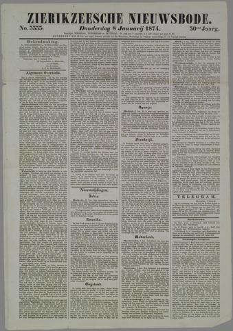 Zierikzeesche Nieuwsbode 1874-01-08
