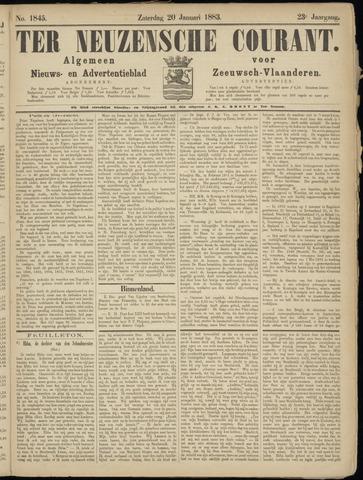 Ter Neuzensche Courant. Algemeen Nieuws- en Advertentieblad voor Zeeuwsch-Vlaanderen / Neuzensche Courant ... (idem) / (Algemeen) nieuws en advertentieblad voor Zeeuwsch-Vlaanderen 1883-01-20