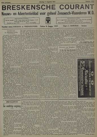 Breskensche Courant 1937-08-17