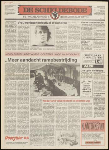 Scheldebode 1986-03-06