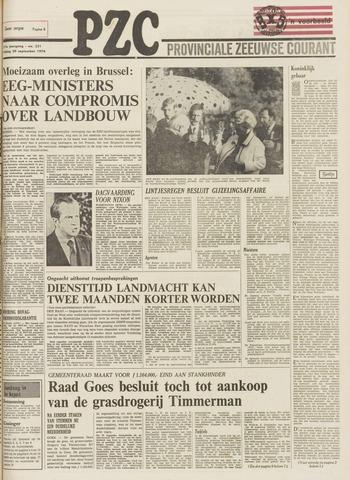 Provinciale Zeeuwse Courant 1974-09-20