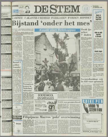 de Stem 1986-02-10