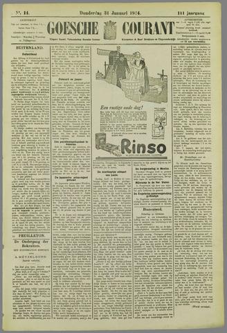 Goessche Courant 1924-01-31