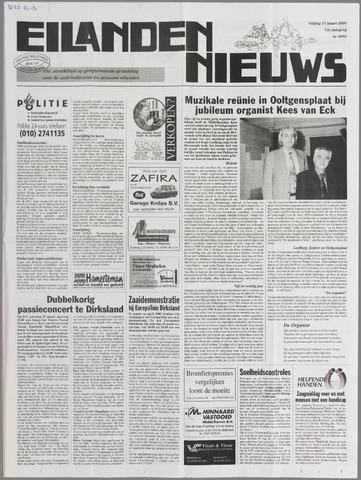 Eilanden-nieuws. Christelijk streekblad op gereformeerde grondslag 2000-03-17