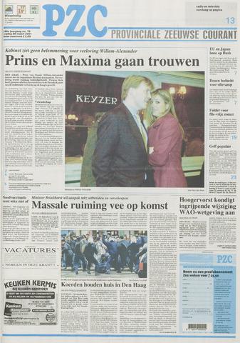 Provinciale Zeeuwse Courant 2001-03-30