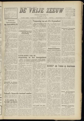 de Vrije Zeeuw 1947-10-07