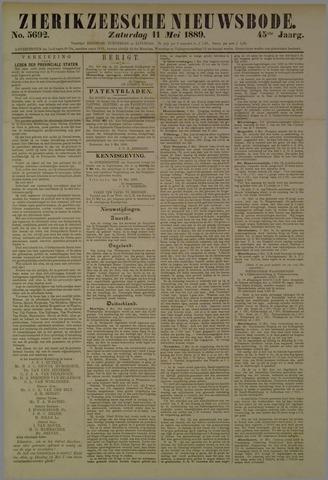 Zierikzeesche Nieuwsbode 1889-05-11