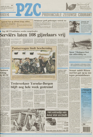 Provinciale Zeeuwse Courant 1995-06-07