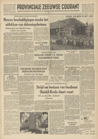 Provinciale Zeeuwse Courant 1954-12-04