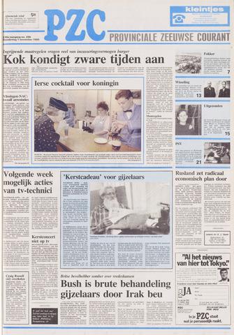 Provinciale Zeeuwse Courant 1990-11-01