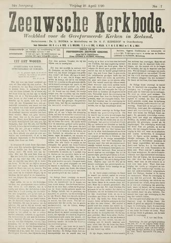Zeeuwsche kerkbode, weekblad gewijd aan de belangen der gereformeerde kerken/ Zeeuwsch kerkblad 1920-04-23