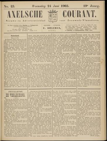 Axelsche Courant 1903-06-24