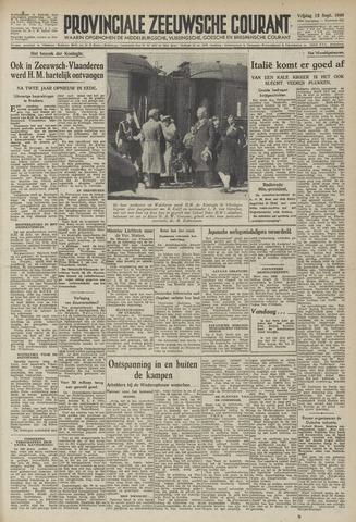 Provinciale Zeeuwse Courant 1946-09-13