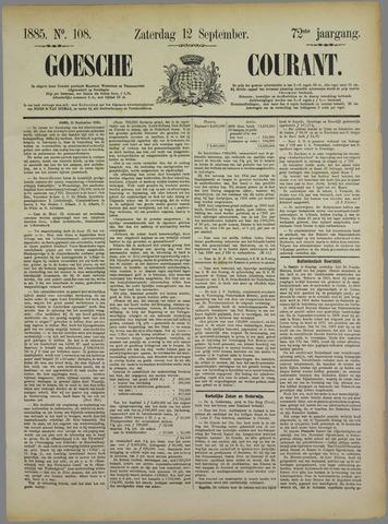 Goessche Courant 1885-09-12