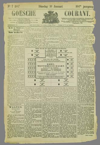 Goessche Courant 1917-01-16