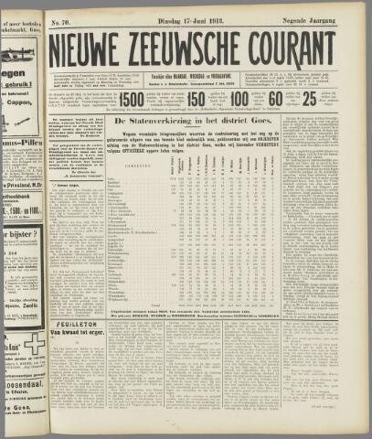 Nieuwe Zeeuwsche Courant 1913-06-17