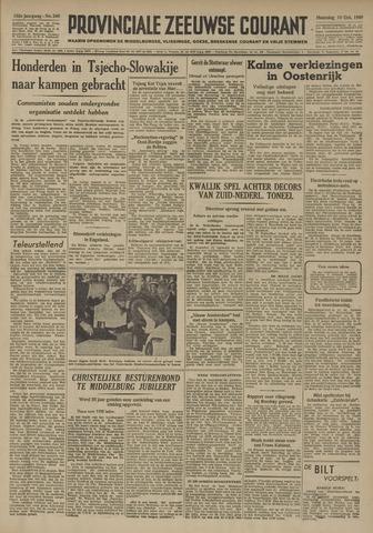 Provinciale Zeeuwse Courant 1949-10-10