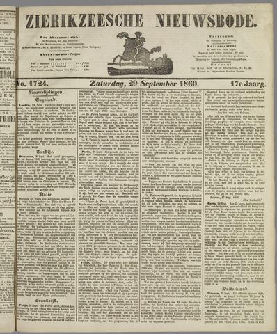 Zierikzeesche Nieuwsbode 1860-09-29