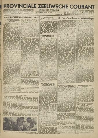 Provinciale Zeeuwse Courant 1944-04-25