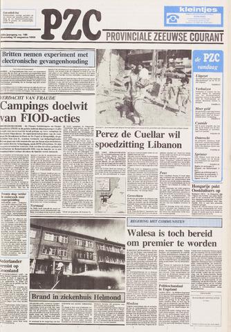 Provinciale Zeeuwse Courant 1989-08-16