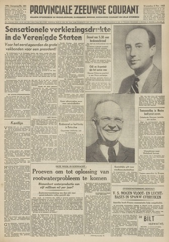 Provinciale Zeeuwse Courant 1952-11-05