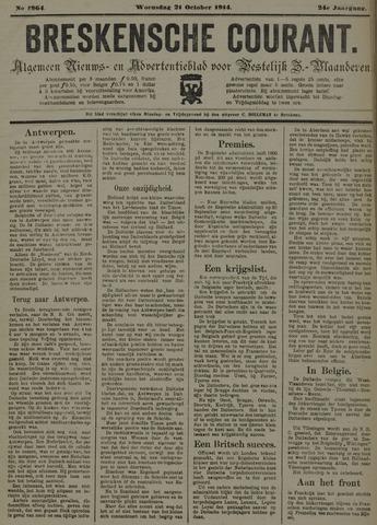 Breskensche Courant 1914-10-21