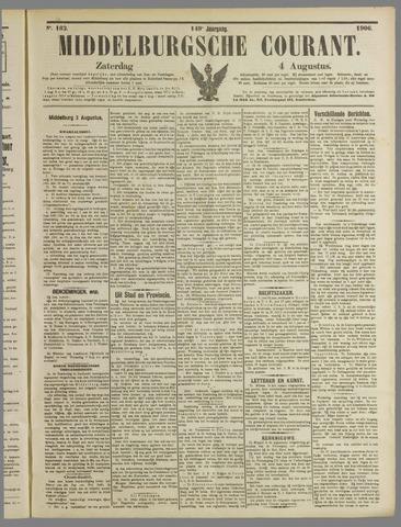 Middelburgsche Courant 1906-08-04