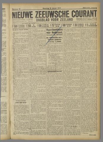 Nieuwe Zeeuwsche Courant 1922-01-16
