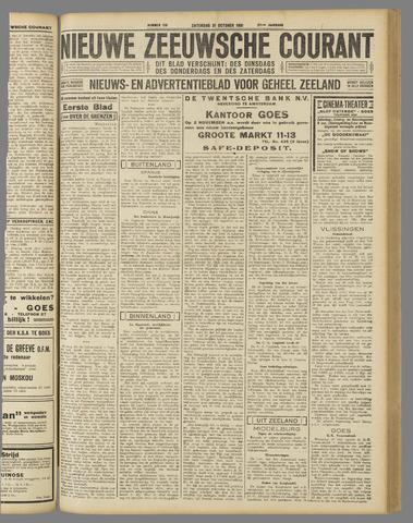 Nieuwe Zeeuwsche Courant 1931-10-31