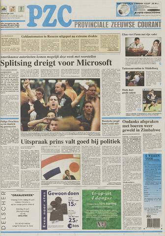 Provinciale Zeeuwse Courant 2000-04-25