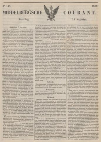 Middelburgsche Courant 1869-08-14