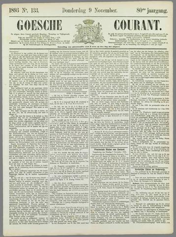 Goessche Courant 1893-11-09