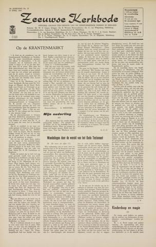 Zeeuwsche kerkbode, weekblad gewijd aan de belangen der gereformeerde kerken/ Zeeuwsch kerkblad 1964-04-10
