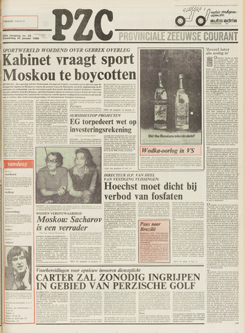 Provinciale Zeeuwse Courant 1980-01-24