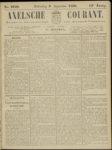 Axelsche Courant 1896-08-08