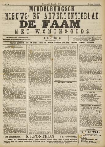 de Faam en de Faam/de Vlissinger 1904