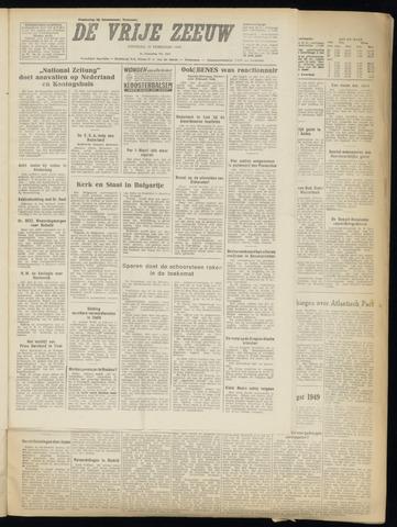 de Vrije Zeeuw 1949-02-22