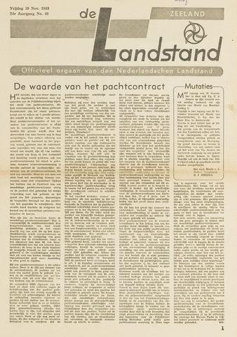 De landstand in Zeeland, geïllustreerd weekblad. 1943-11-19