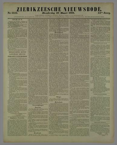 Zierikzeesche Nieuwsbode 1888-03-29